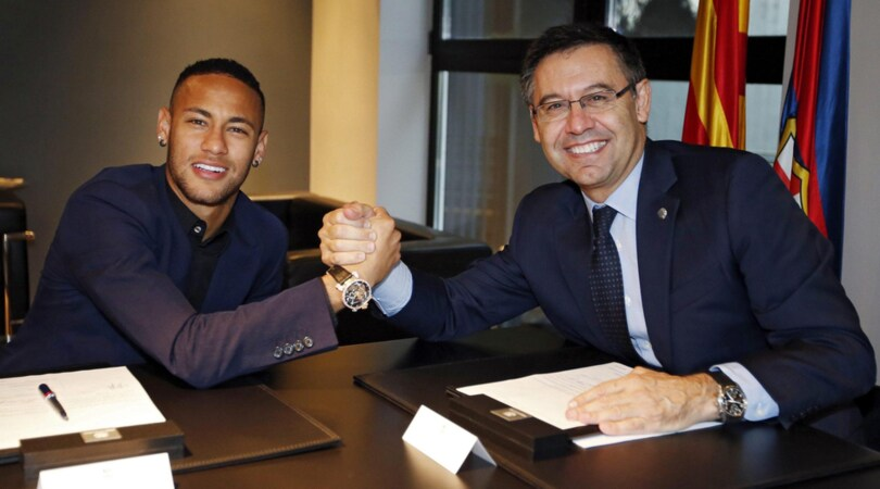 Neymar, rinnovo da 25 mln . E super clausola da 250!