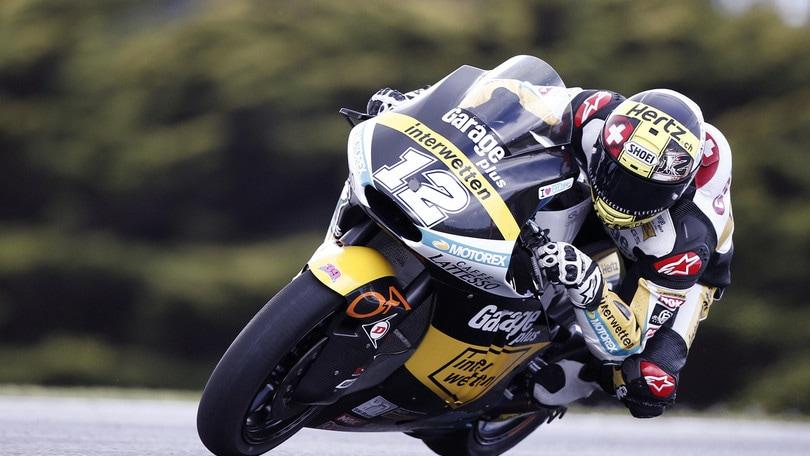 Moto2, Phillip Island: Luthi in pole, secondo Pasini