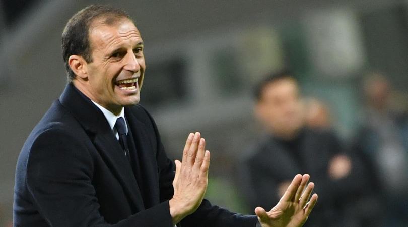 Juventus, Allegri: «Gol buono, il Milan ha fatto gioco di squadra...»