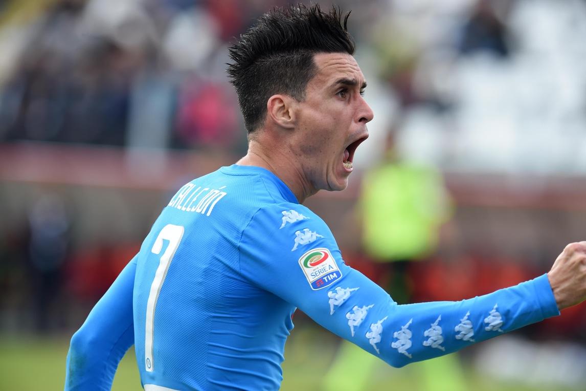 Serie A, Crotone-Napoli: le immagini della vittoria degli azzurri