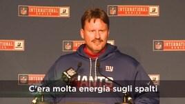 "NFL a Londra, Giants: ""Che esperienza"""