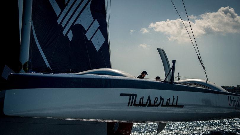 Vela, Middle Sea Race: vittoria e record per Maserati Multi70