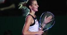 Tennis, Wta finals: avanza la Pliskova