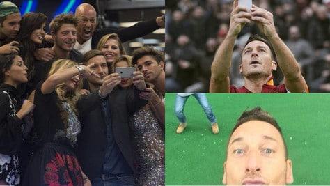Roma totti show al gf vip selfie nella casa dopo quello for Case vip roma
