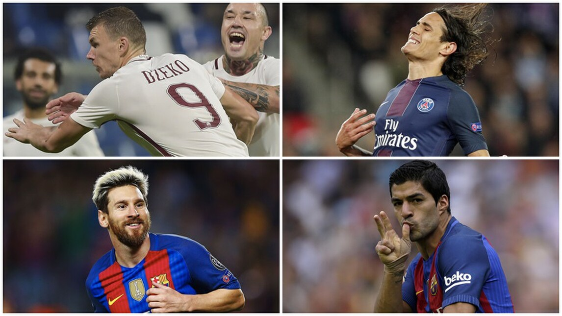 Roma, Dzeko miglior marcatore d'Europa: 10 gol su 10 partite