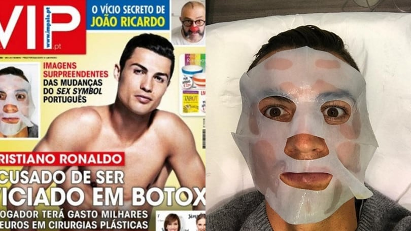 Liga, Real Madrid. In Portogallo: «Cristiano Ronaldo schiavo del botox»