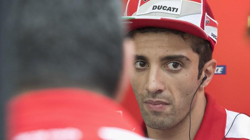 MotoGp Ducati, Iannone: «La schiena non è ancora a posto»