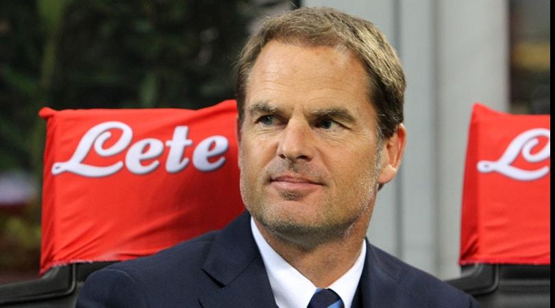Inter: se perde con la Samp, Leonardo al posto di De Boer