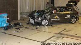 Fiat Tipo, quattro stelle nei crash test EuroNcap