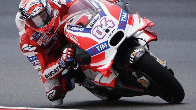MotoGp Malesia: pole a Dovizioso, Rossi secondo