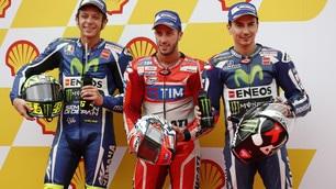 MotoGP, le immagini della pole di Dovizioso a Sepang