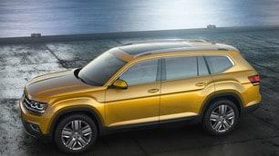 Volkswagen Atlas, il Suv big size per gli USA: foto