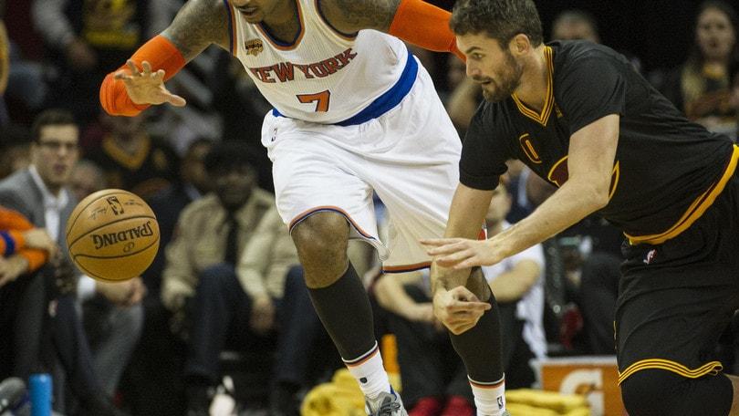Anthony regola i Pacers, primo sorriso per i Knicks