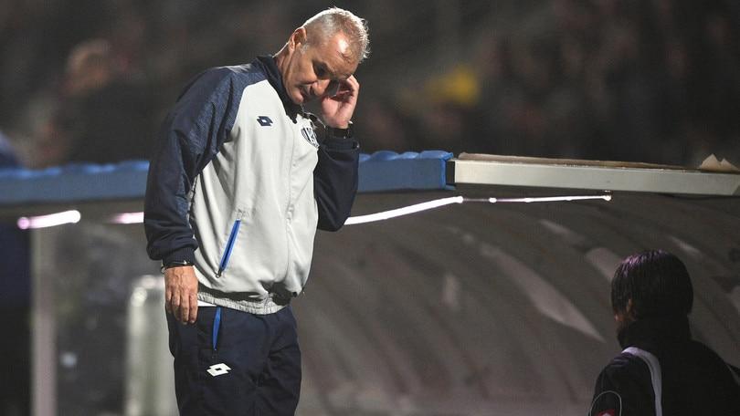 Serie B Cesena, esonerato l'allenatore Drago