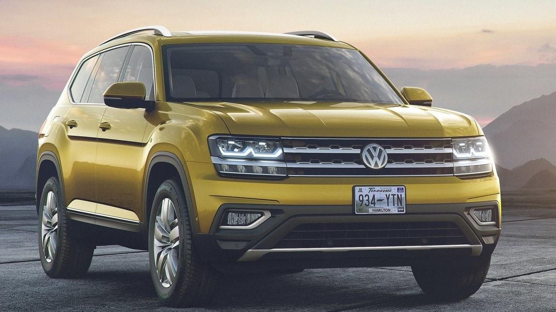 Atlas, il Suv più grande mai realizzato da Volkswagen