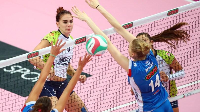Volley: A1 Femminile, super Egonu non basta al Club Italia, vince Firenze