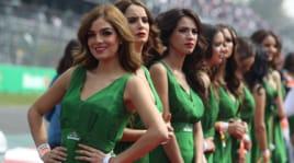 Formula 1, quante bellezze in pista per l'apertura del Gp messicano