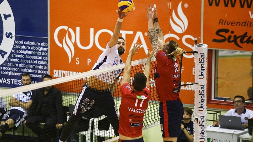 Volley: A2 Maschile Girone Blu, c'è Cantù in vetta