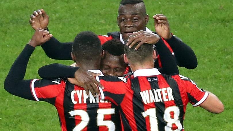 Ligue 1, super Balotelli: scende a 7,00 la quota sul Nizza campione