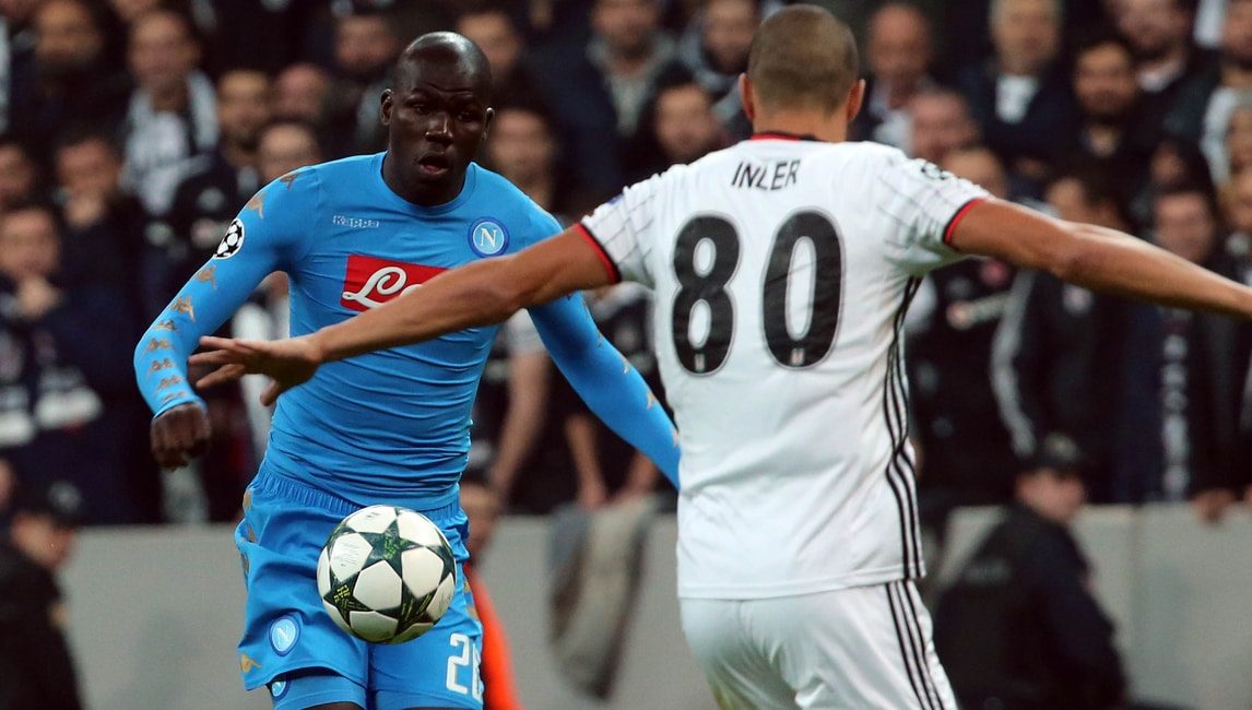 Champions League: Besiktas-Napoli 1-1, le immagini della partita