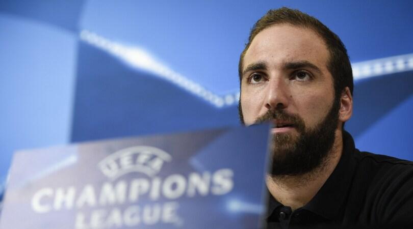 Juventus, Higuain: «Giochiamo per vincere in ogni competizione»