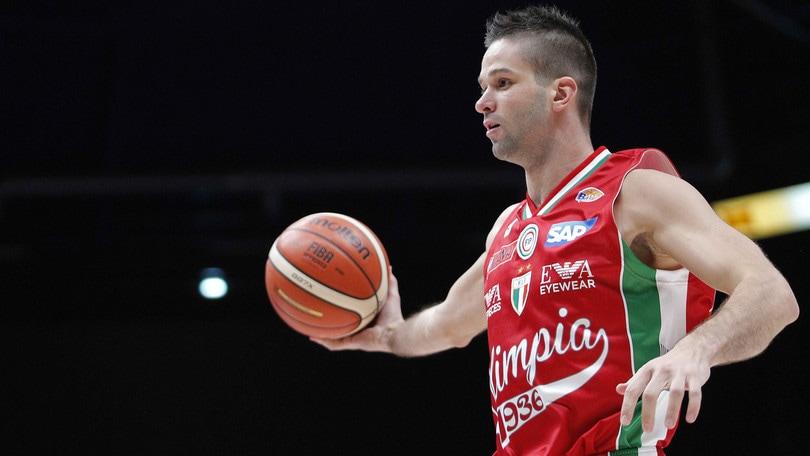 Basket, Eurolega: Milano, vittoria con il Bamberg a 2,30