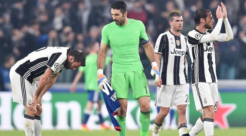 Champions: stop Juve, ma il primo posto nel Girone è a 1,85