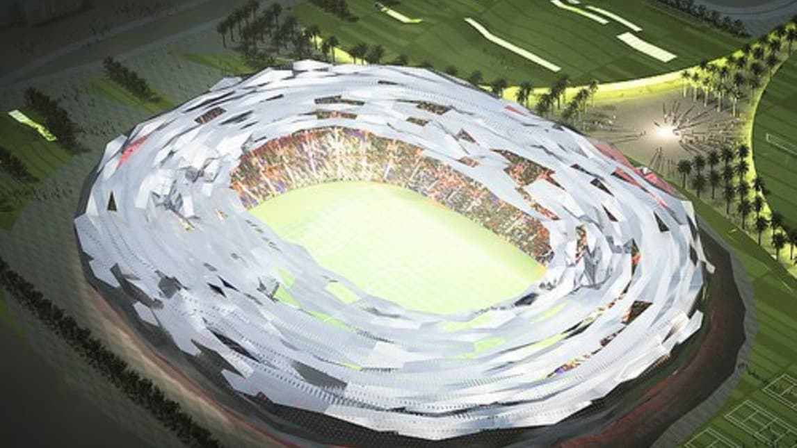 Stadi Qatar 2022 Immagini Progetti : Qatar ecco i progetti di tutti gli stadi corriere