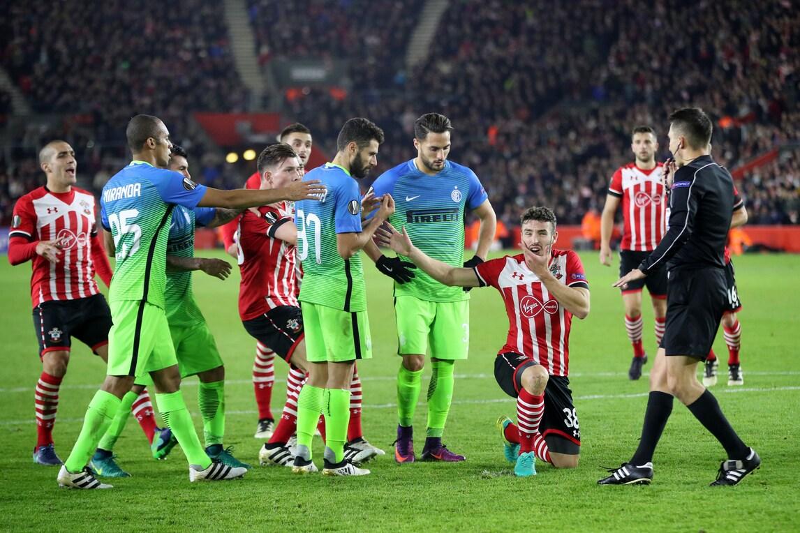Europa League Southampton Inter 2 1 Nerazzurri Quasi