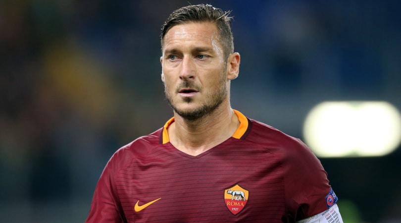 Roma, Totti: «Se sto bene perché devo smettere?»