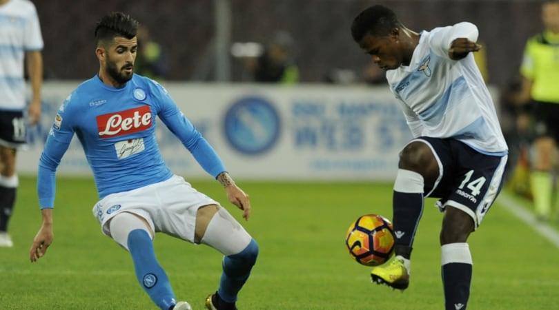 Moviola Napoli-Lazio: Hysaj rischia il rigore, Radu il rosso