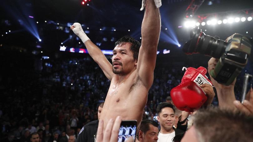 Boxe, Pacquiao torna e si riprende il titolo dei pesi welter