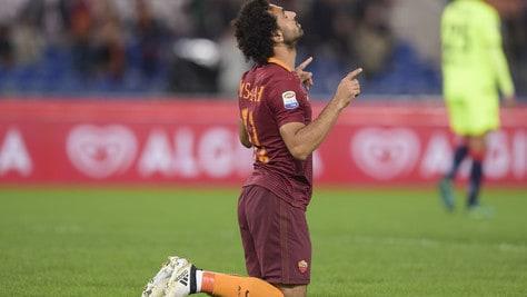 Roma, Salah tra i 5 candidati per il Pallone d'Oro africano
