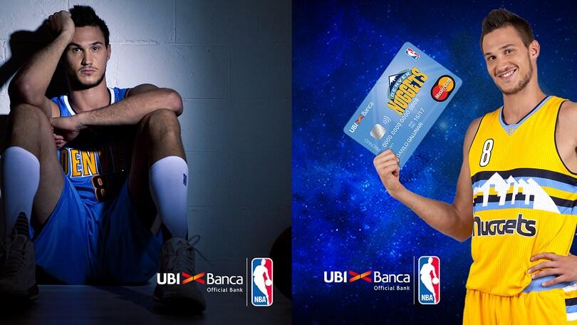 NBA-UBI, con la carta Enjoy puoi volare a vedere Gallinari