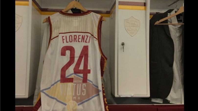 Florenzi, maglia dalla Virtus Roma: «Mi dedicherò anche al basket»