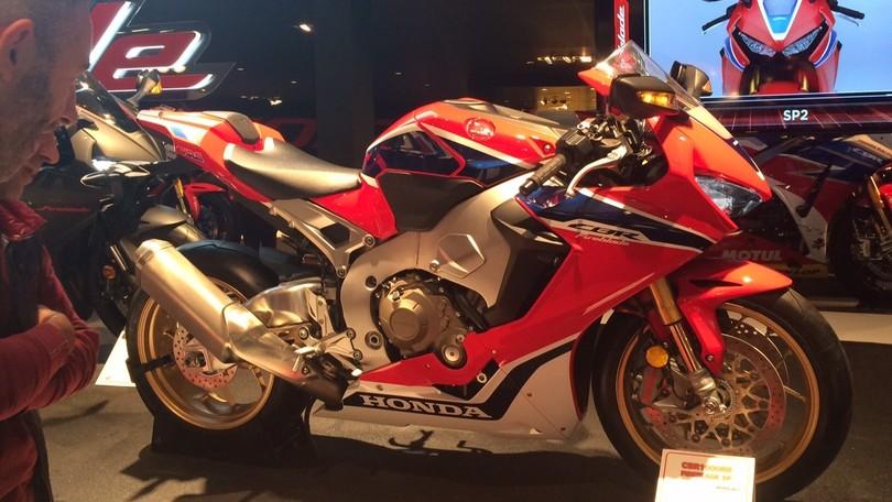 Honda CBR1000RR, la nuova Fireblade a Eicma 2016