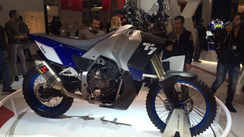 Yamaha T7 Concept, leonessa del deserto a Eicma 2016