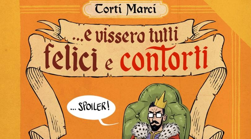 Torti Marci, il fumetto cult sbarca in libreria