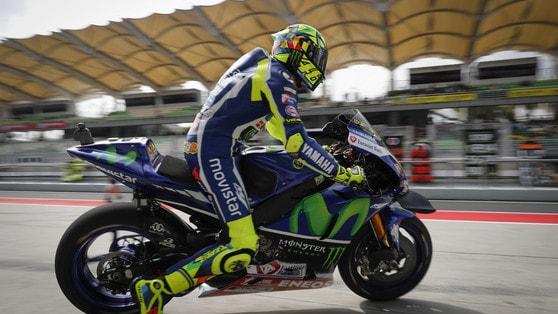MotoGp Yamaha, Rossi: «Vinales è l'uomo da battere»