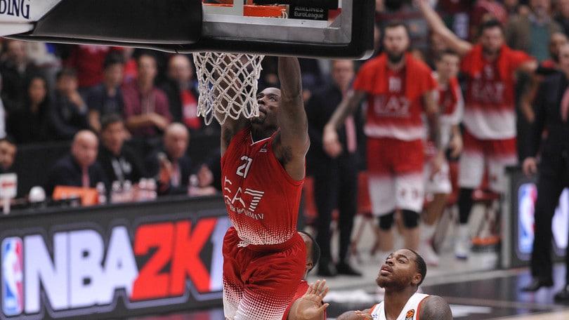 Basket Eurolega, reazione Milano! Efes ko