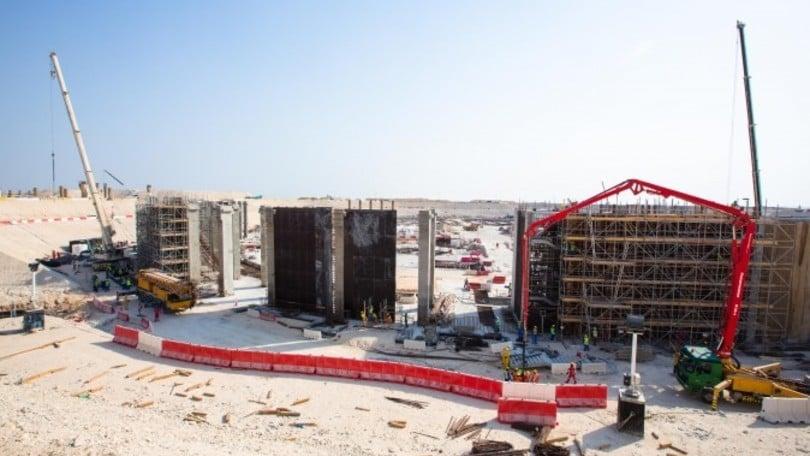 Cresce l'Al Bayt Stadium