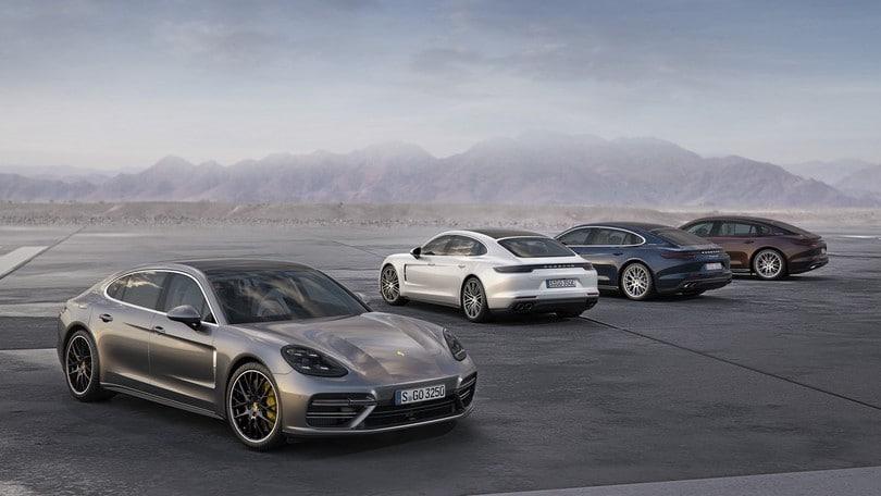 Porsche Panamera: debuttano nuove versioni