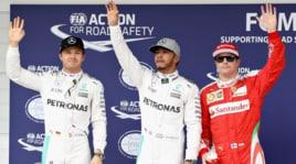 F1: Hamilton conquista la pole a Interlagos, Ferrari terza con Raikkonen