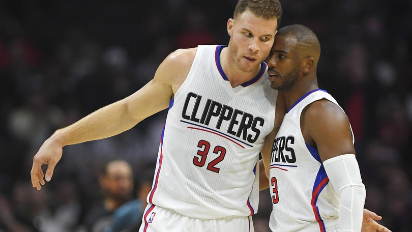 Griffin asfalta i Nets, Clippers a valanga