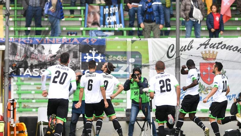 Serie B Cesena-Pisa 2-0. Doppietta di Rodriguez