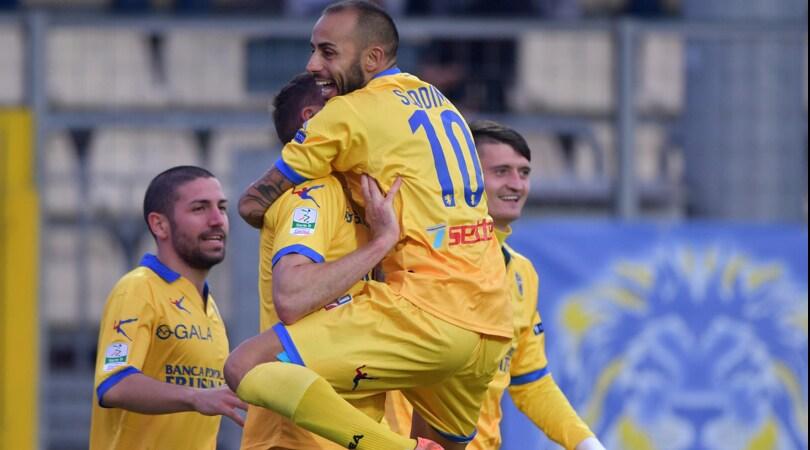 Serie B, Frosinone-Carpi: gialloblu favoriti a 1,98