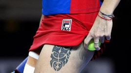 Pliskova, che tatuaggio sulla coscia!