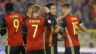 Belgio, che spettacolo! 8-1 all'Estonia: doppietta Mertens