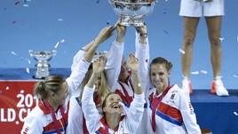Tennis, la Repubblica Ceca trionfa in Fed Cup