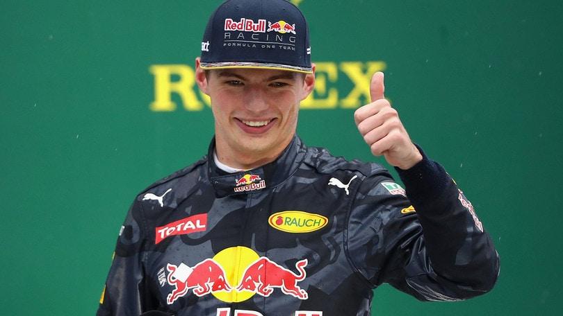 F1, Verstappen: «Gara incredibile in condizioni difficili»